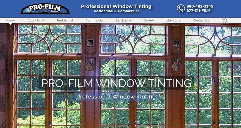 Pro-Film Torrington CT Professional Window Tinting CT
